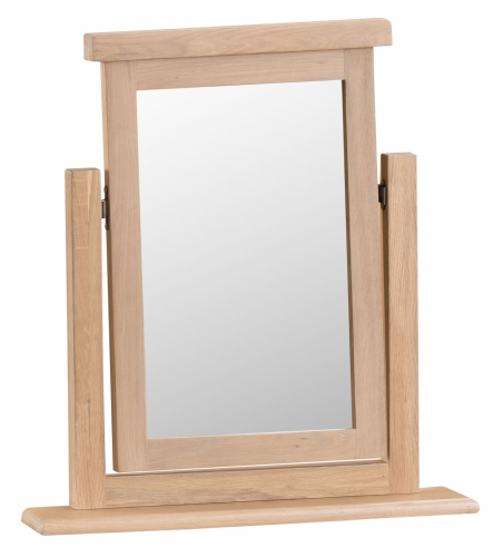 Lowestoft Oak Single Dressing Table Mirror